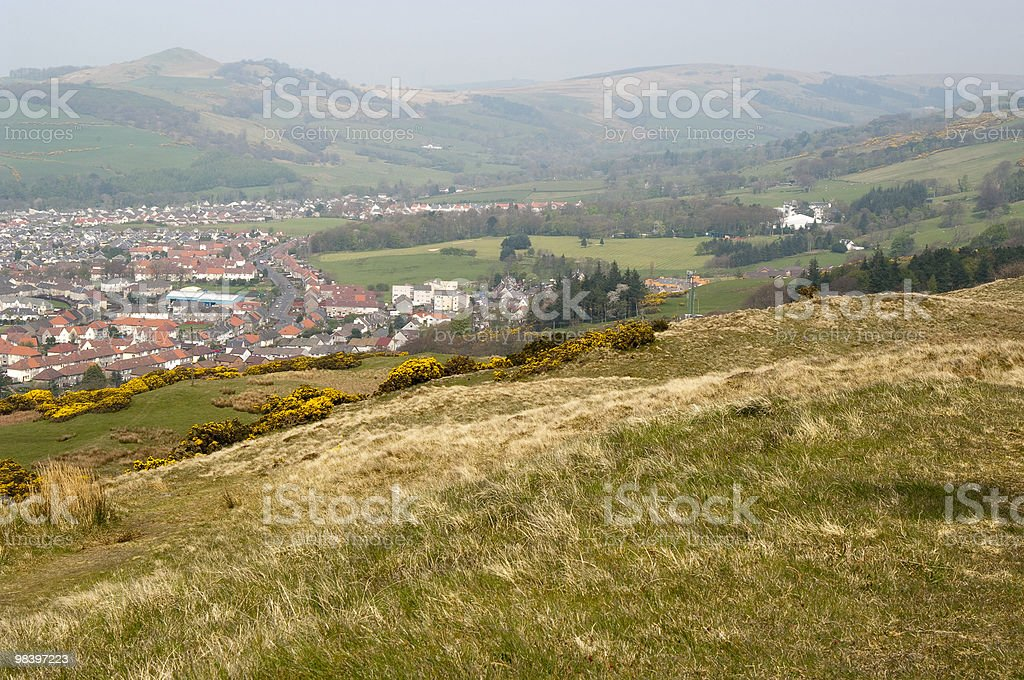 North from Largs royalty-free stock photo