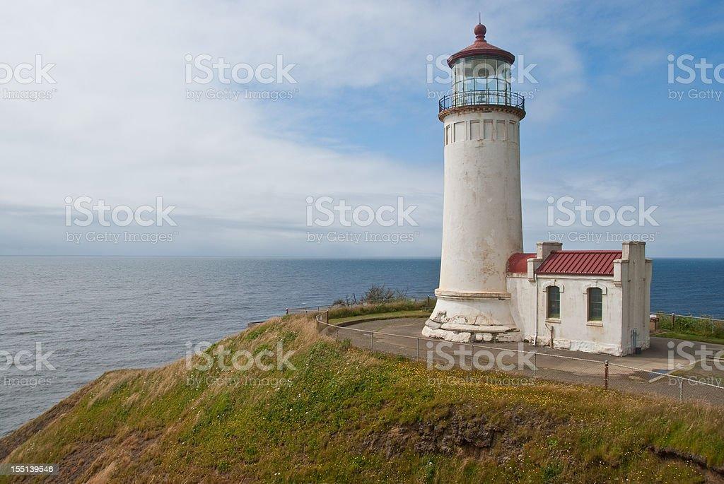 North Head Lighthouse stock photo
