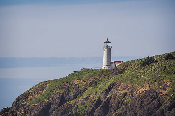 north head lighthouse - headland stock pictures, royalty-free photos & images