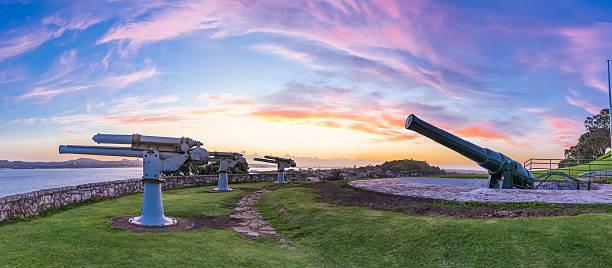 North Head sunset stock photo