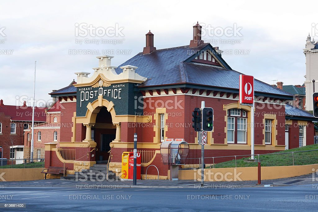 North Hobart Post Office stock photo