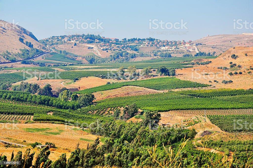North Israel. stock photo