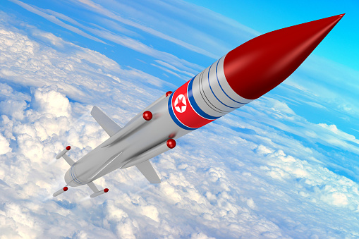 North Korea Missile Stock Photo - Download Image Now