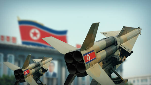North Korean missiles North Korean missiles military parade stock pictures, royalty-free photos & images