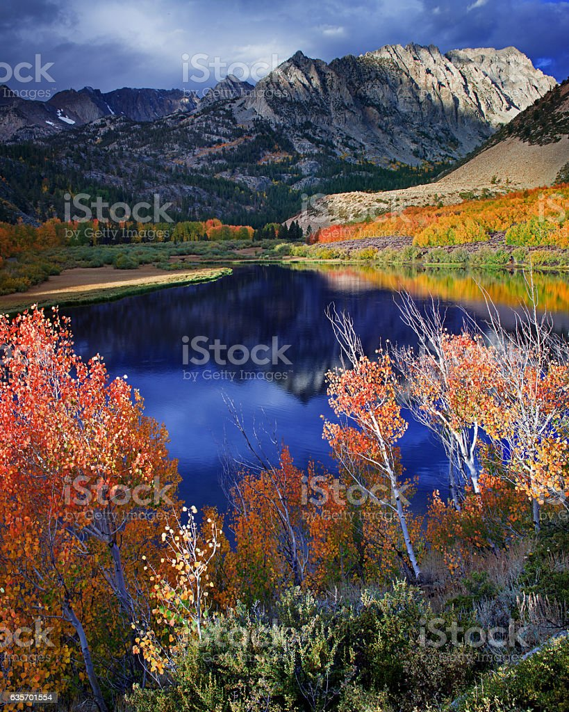 North Lake by Bishop Atumn Colors royalty-free stock photo