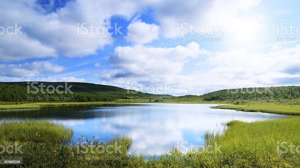north lake royalty-free stock photo