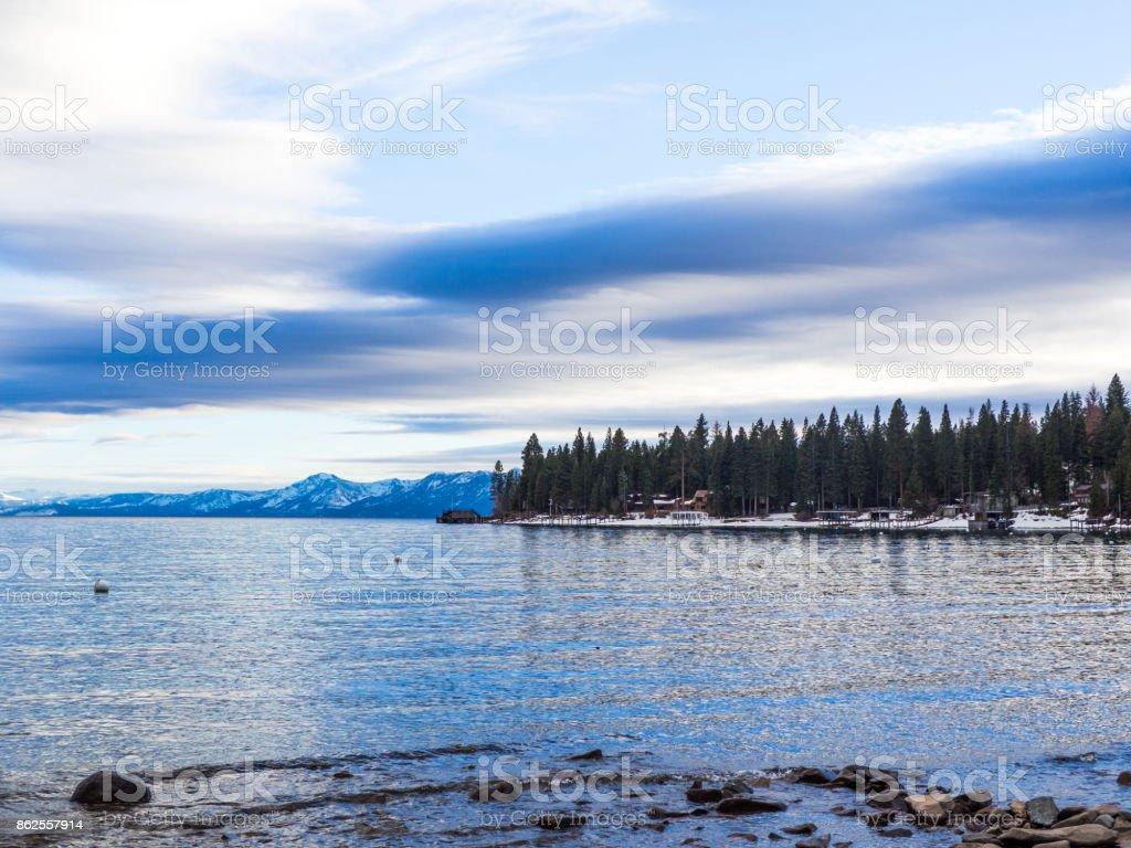 North Lake Tahoe royalty-free stock photo