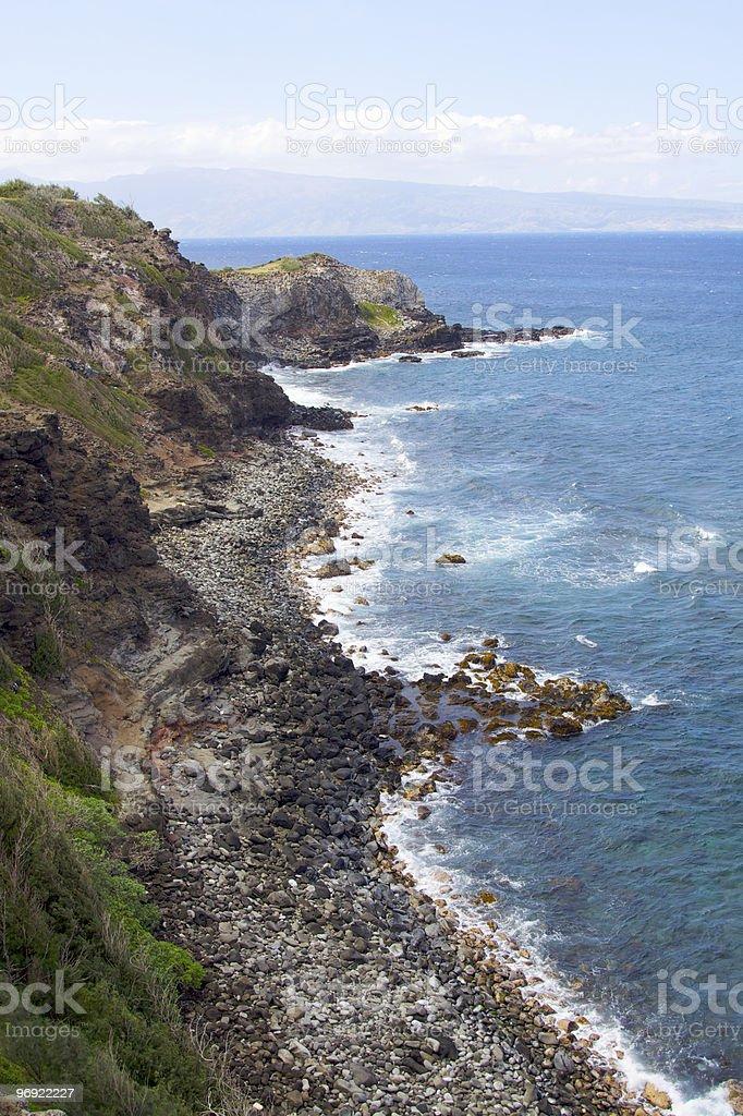 North Maui Coastline royalty-free stock photo