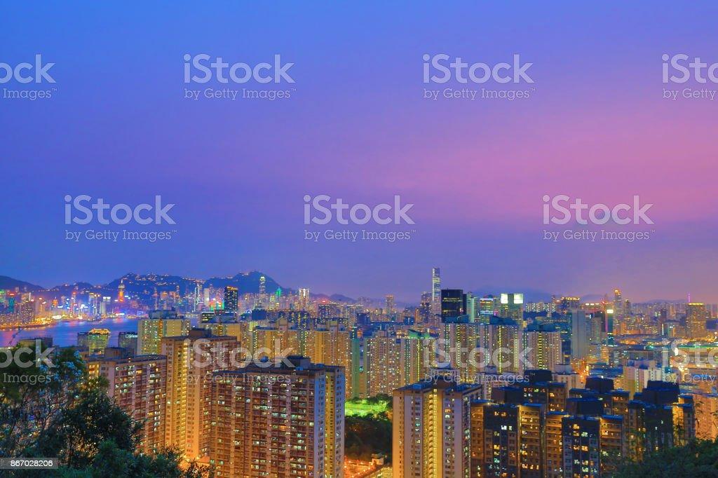 觀塘以北的香港圖像檔