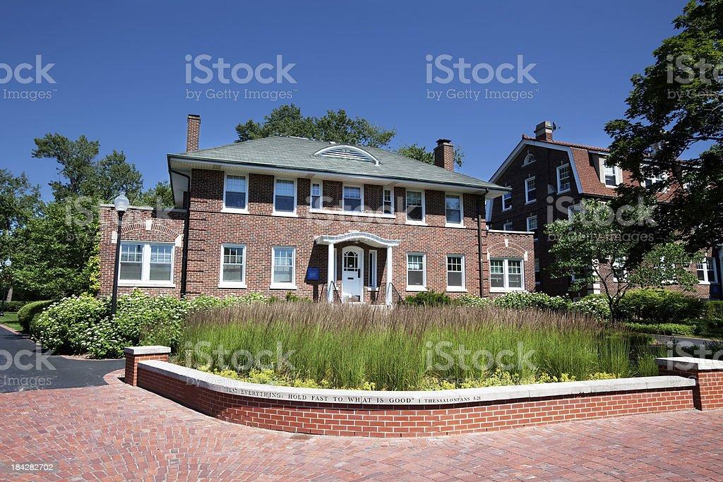 North Park University, Chicago royalty-free stock photo