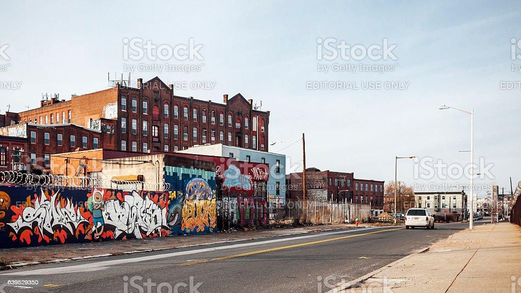 North Philadelphia. stock photo