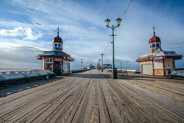 North Pier Blackpool. stock photo