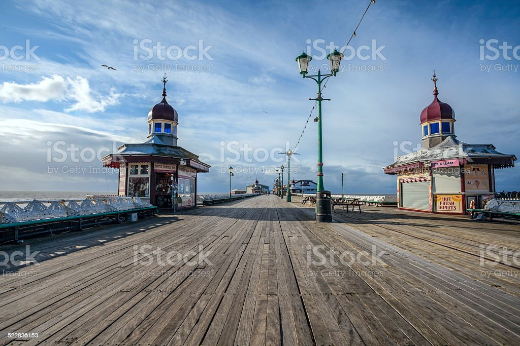 North Pier Blackpool. stock photo