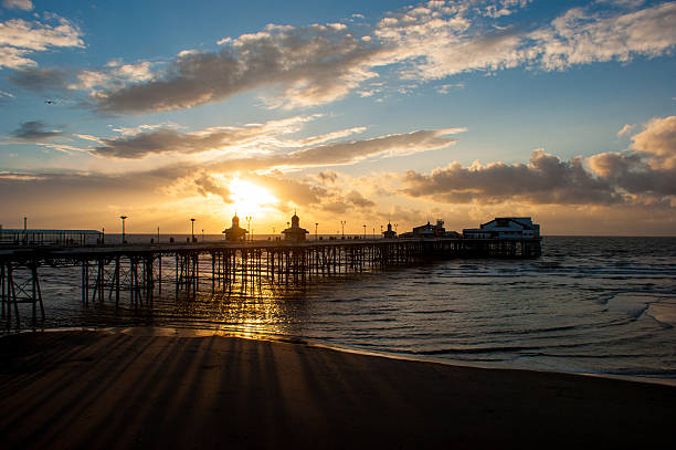 North Pier, Blackpool stock photo