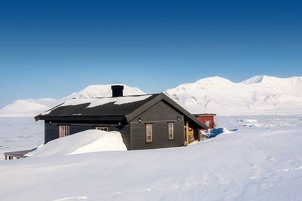 North Pole stock photo