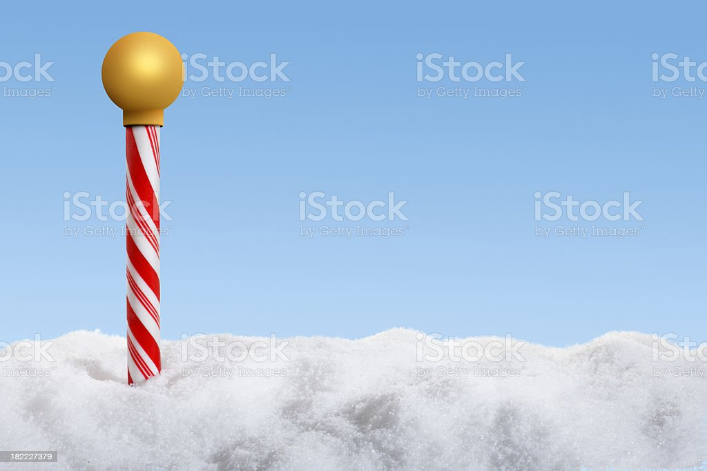 North Pole royalty-free stock photo