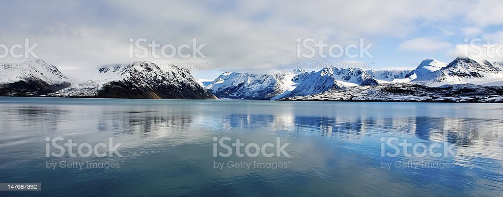 North Reflection stock photo