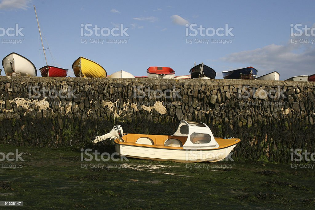 North Ring Harbour, Clonakilty, South West Ireland stock photo