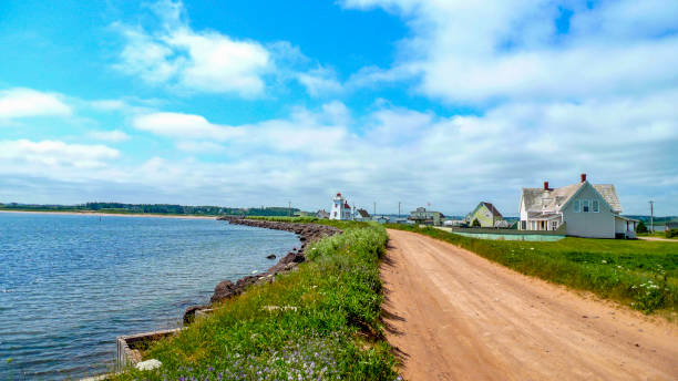 north rustico - prince edward island stock photos and pictures