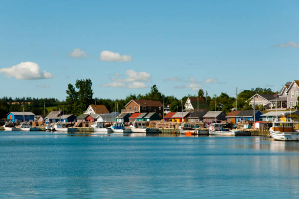 north rustico - prince edward island - canada - prince edward island stock photos and pictures