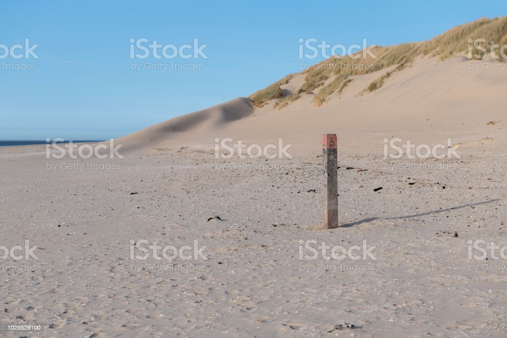 Nordsee-Strand auf der Insel Ameland – Foto