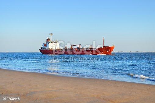 istock North sea shore in Vlissingen, the Netherlands 912700448