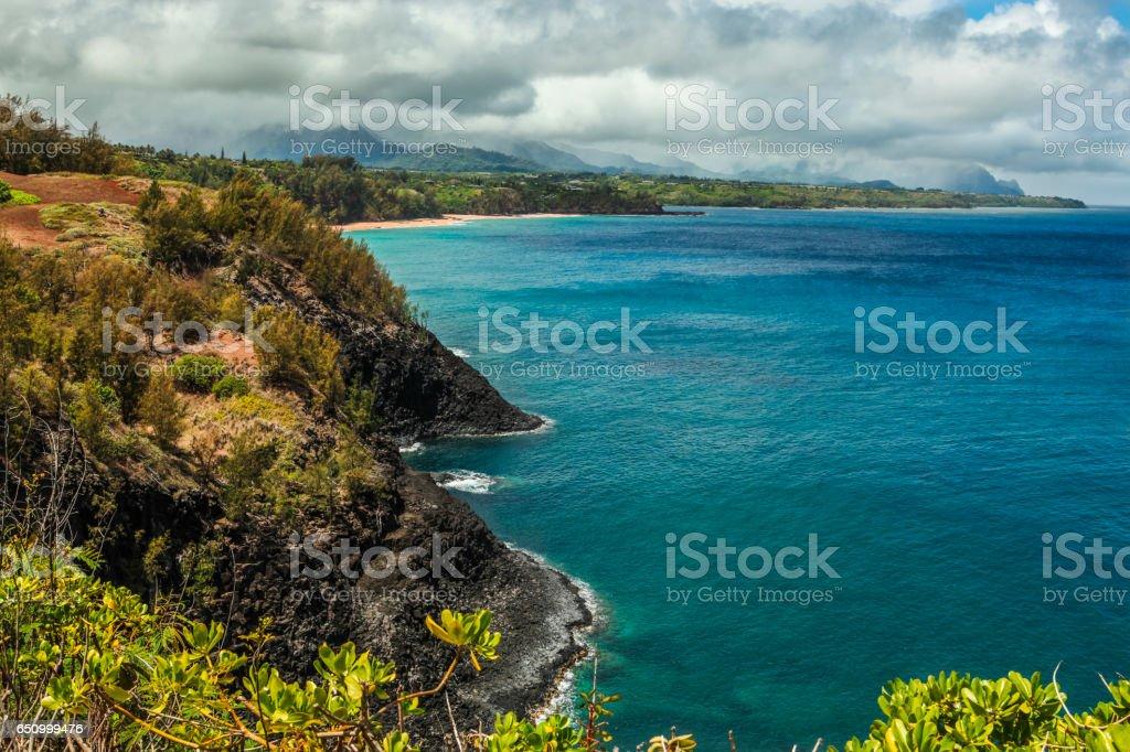 North Shore - Kauai stock photo
