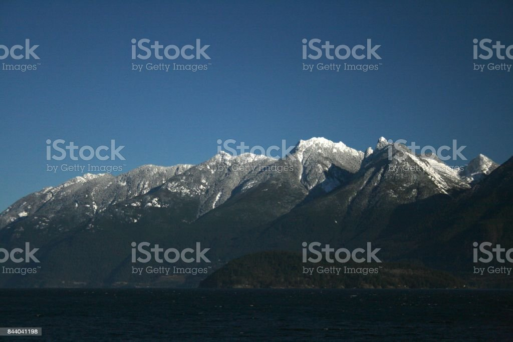 North Shore Mountains stock photo