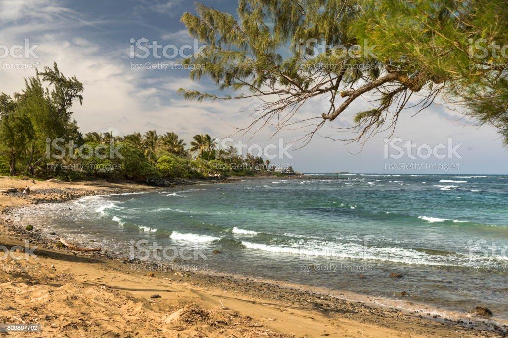 North Shore Oahu Hawaii stock photo