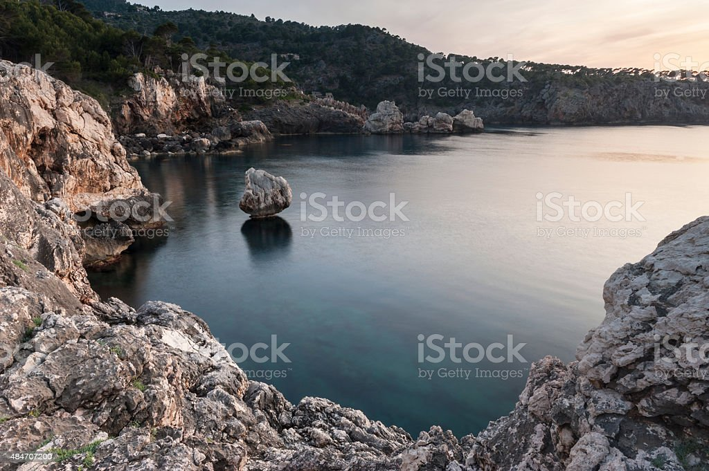 North Shore of Majorca stock photo