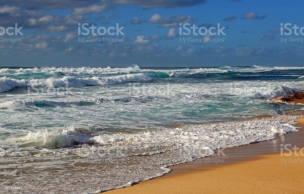 North Shore royalty-free stock photo