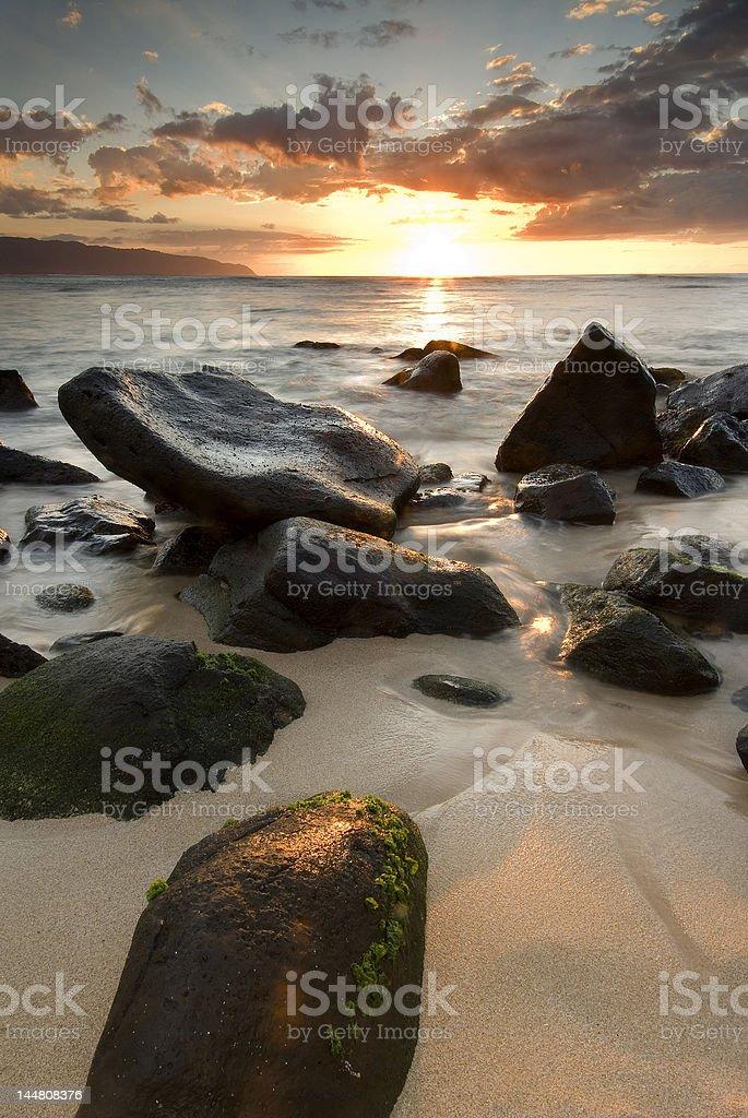 North Shore scenic royalty-free stock photo