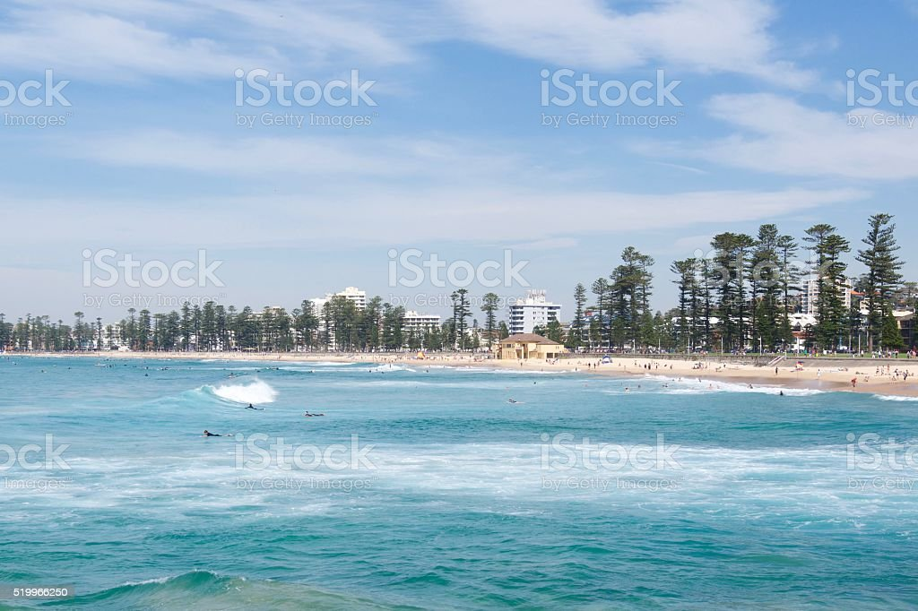 North Steyne stock photo