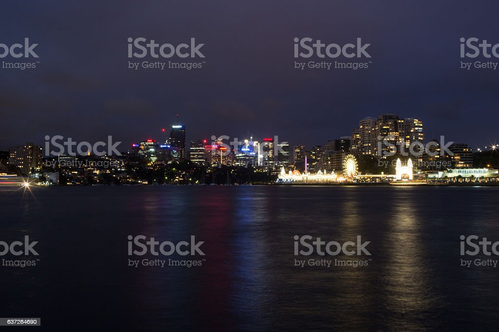 North Sydney stock photo