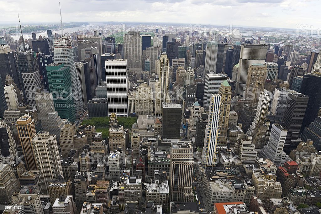 North view of Manhattan royalty-free stock photo