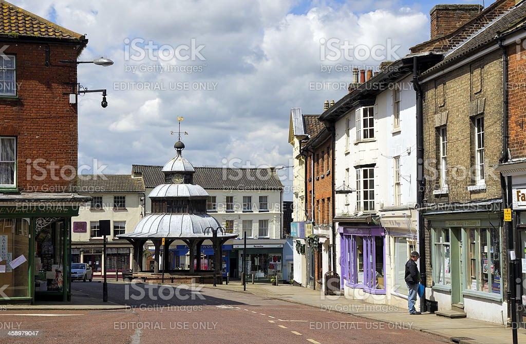 North Walsham, Norfolk stock photo