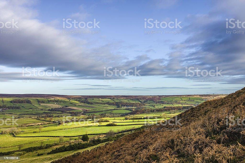 North York Moors, Glaisdale, Yorkshire, UK. royalty-free stock photo