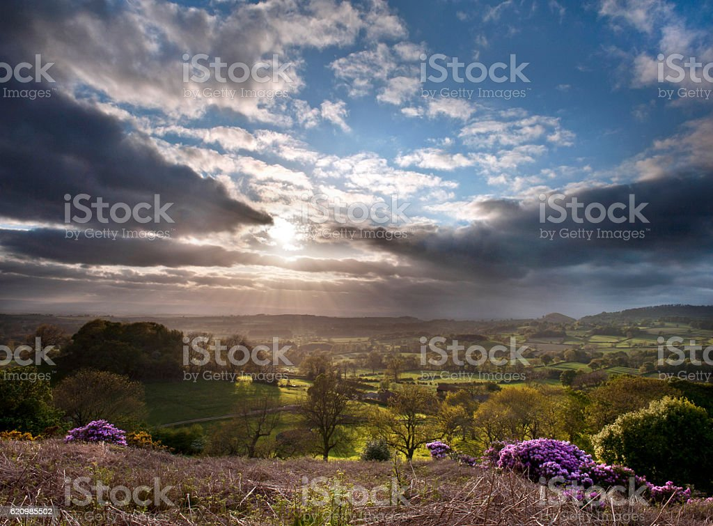 North Yorkshire Landscape foto royalty-free