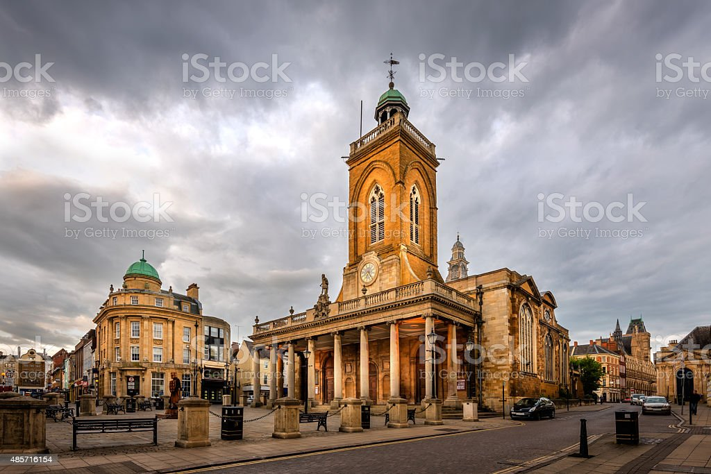 Northampton city, England, UK stock photo
