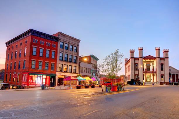Northampton, Massachusetts stock photo