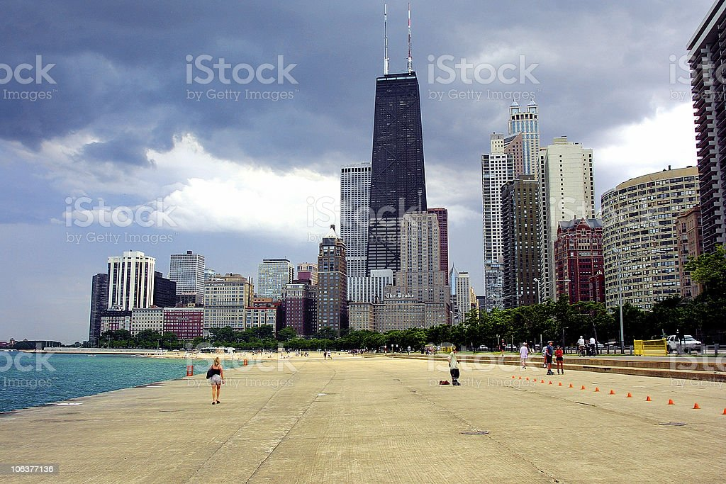 NorthAve royalty-free stock photo