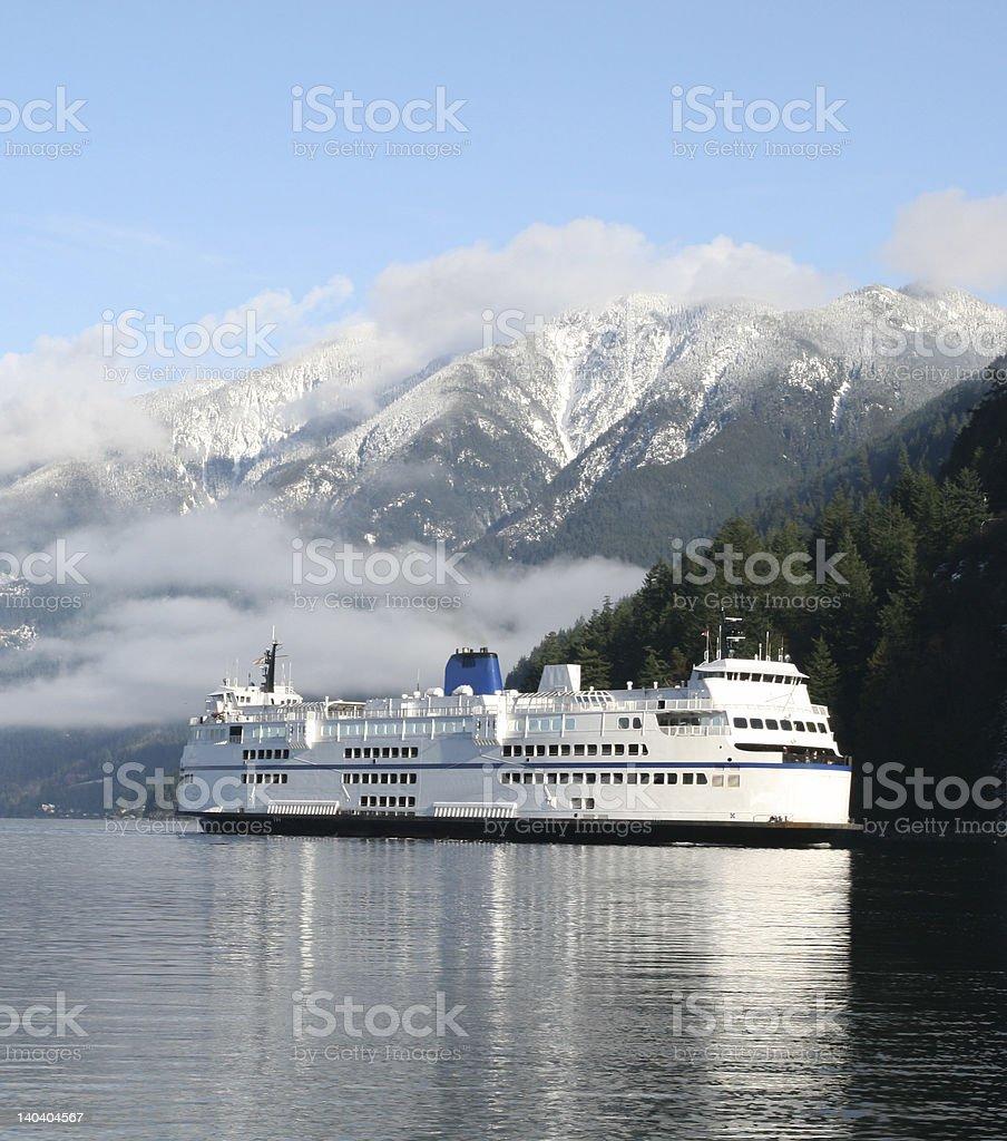 Northcoast Ferry royalty-free stock photo