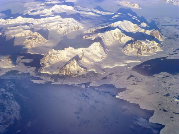 Norden der antarktischen Halbinsel Höhenlage Ansicht. Elemente dieses Bildes, eingerichtet von der NASA – Foto
