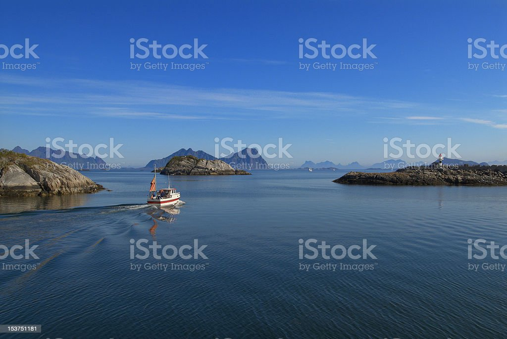 Northern archipelago royalty-free stock photo