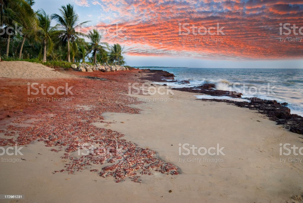 Northern Australian Beach royalty-free stock photo