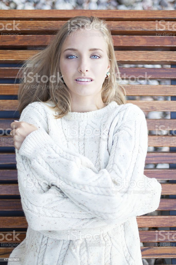 Northern beauty royalty-free stock photo