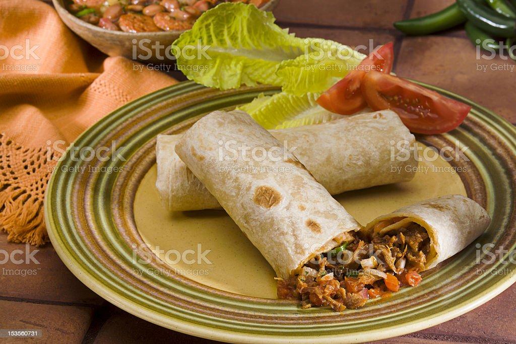 Northern Burrito stock photo