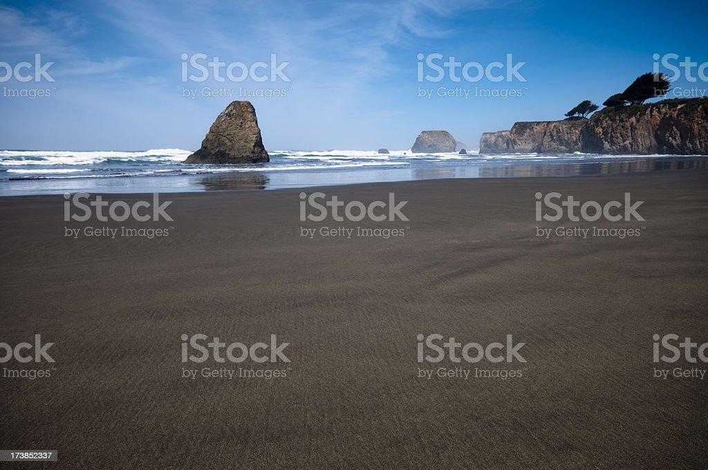 Northern California Beach royalty-free stock photo
