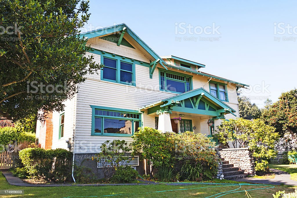 Northern California Home royalty-free stock photo