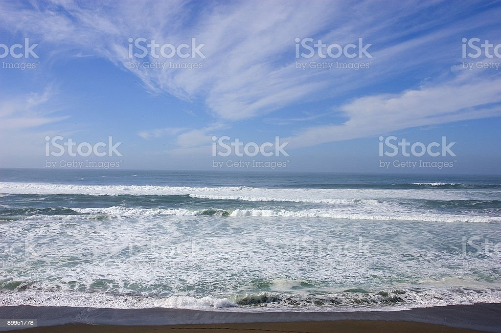northern california ocean royalty-free stock photo